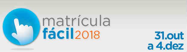 Matrícula Fácil RJ 2018