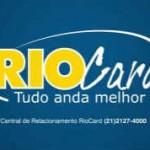 Cartão RioCard 2017